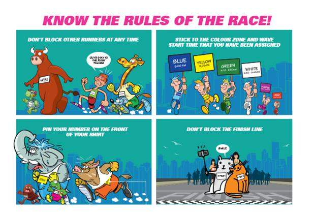 Race Etiquette