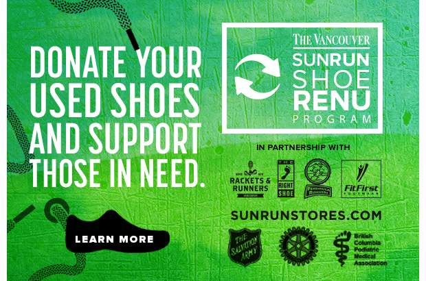 Donate your used shoes and support those in need.